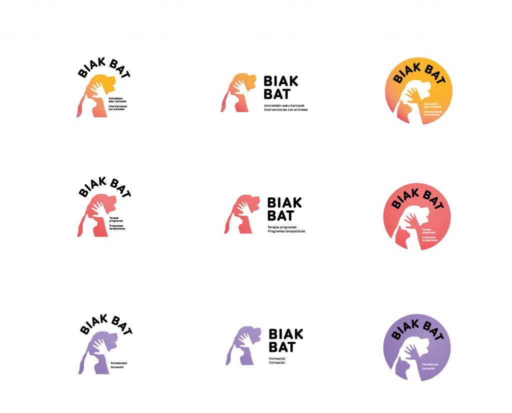 Biak Bat logotipo berriak